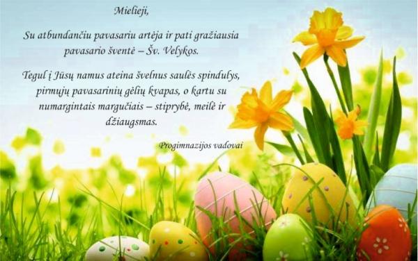 Su atbundančiu pavasariu artėja ir pati gražiausia pavasario šventė - Šv. Velykos