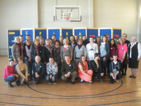 Comenius projekto dalyvių susitikimas Estijoje